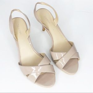 Calvin Klein Nude Open Toe Sandal Blush 9.5